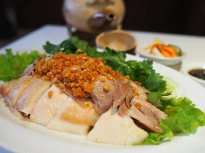 Ayam Rebus Bumbu Jahe